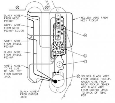 Help Wiring A Normal Neck Pickup To Baja S 1 Switch Telecaster Guitar Forum