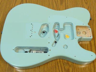 loose tele wiring telecaster guitar forum fender standard telecaster cavity ground shield paint screw jpg
