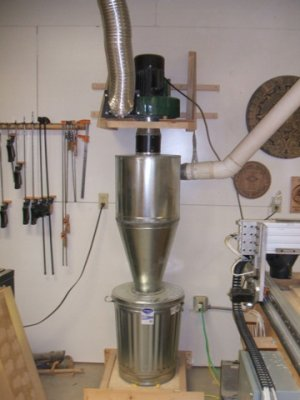 how to build a dust collector
