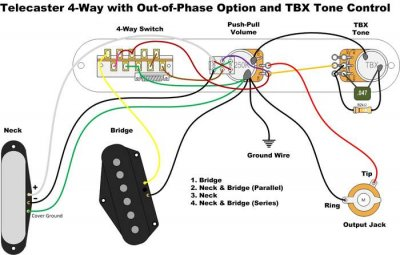 Telecaster Way Switch Wiring Diagram on telecaster wiring 5-way switch, telecaster 3-way switch schematic, four-way switch diagram, telecaster 4-way switch and 3 pickups,