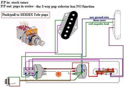 highway one to richie kotzen wiring telecaster guitar. Black Bedroom Furniture Sets. Home Design Ideas