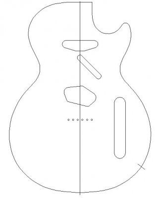 Telecaster Template Download