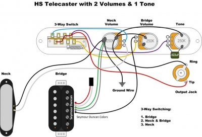 tele wiring for 2 vol 1 tone with gibson toggle switch. Black Bedroom Furniture Sets. Home Design Ideas