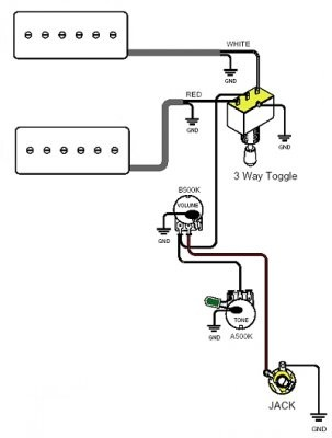 Single Coil Telecaster Wiring Diagram together with Standard Stratocaster Wiring Diagram additionally Fender Squier B Wiring Diagram moreover Wiring Diagrams For Humbuckers together with Push On Switch Wiring Diagram Large Size Of. on telecaster switch wiring