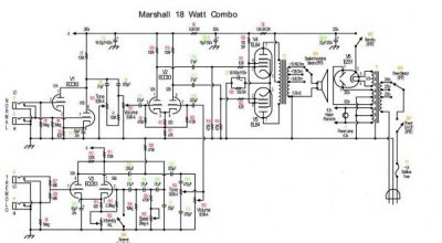 18 watt whats all the fuss about??? | Page 3 | Telecaster ... Marshall Watt Schematic on hiwatt schematic, 18 watt tmb schematic, marshall 18 watt amp kit, 120 watt tube amp schematic, peavey 260 schematic, marshall amp schematics, trinity 18 watt mkii schematic, 18 watt amp schematic, marshall 2210 schematics, marshall 50 watt plexi layout, bluesbreaker schematic, 5 watt tube amp with reverb schematic,