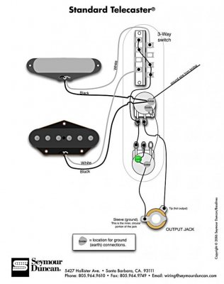 Wiring diagram for Texas Specials | Telecaster Guitar ForumTDPRI.com
