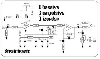 Correct chip for OCD clone? | Telecaster Guitar Forum on