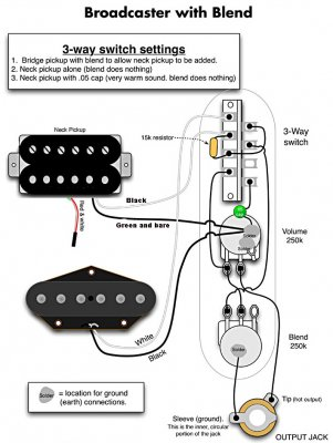 blackguard wiring help needed telecaster guitar forum 5-Way Switch Wiring Diagram Telecaster i am working on a blackguard project and here is what i am trying to do i am trying to wire the a blackguard with a blend like the wiring diagram above