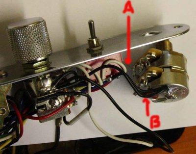 how to replace tbx tone control telecaster guitar forum. Black Bedroom Furniture Sets. Home Design Ideas