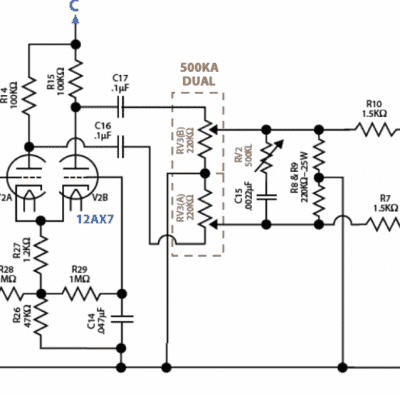 6v6 Tiny Terror with fixed bias | Telecaster Guitar Forum Ditto Looper Schematic on