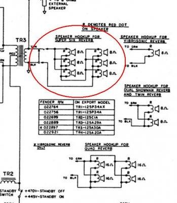 Fender Super Six amp speaker wiring? | Telecaster Guitar Forum on