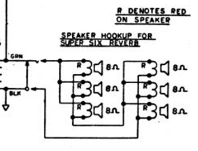 car component speaker wiring diagrams fender super six amp speaker wiring? | telecaster guitar forum