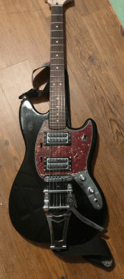 Squier Bullet Mustang NGD and mods (warning: Bigsby content