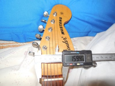 1 5 Neck Width At The Nut Telecaster Guitar Forum