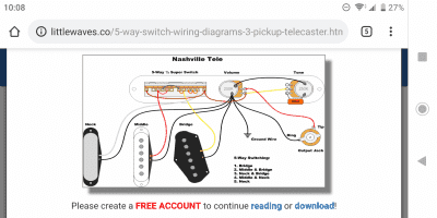 5 way switch wiring help | Telecaster Guitar Forum  Pickup Telecaster Wiring Diagram on fender broadcaster wiring diagram, nashville telecaster wiring diagram, telecaster texas special wiring diagram, telecaster guitar wiring diagram, fender precision bass wiring diagram, telecaster wiring position 5, telecaster pickup installation, fender jazzmaster wiring diagram, jazzmaster guitar wiring diagram, fender stratocaster series wiring diagram, telecaster seymour duncan wiring diagrams, american stratocaster wiring diagram, telecaster wiring 5-way switch, ibanez grg series wiring diagram, telecaster wiring harness, fender strat wiring diagram, telecaster pickup cover, telecaster wiring kits, standard strat wiring diagram, mexican strat wiring diagram,
