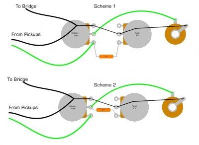 Volume-Tone Pot Wiring...tone cap before or after volume? | Telecaster  Guitar Forum | Guitar Pot Wiring Diagrams |  | TDPRI.com