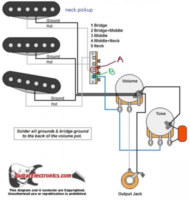 Help With Wiring Diagram 1v 1t Toggle For Tele Sounds Telecaster Guitar Forum