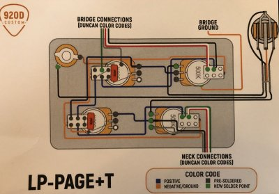 Jimmy Page wiring... troubleshooting help needed | Telecaster Guitar ForumTDPRI.com