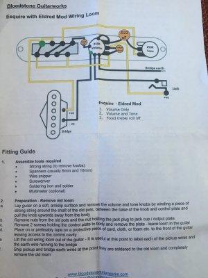 Seymour Duncan BG1400 wiring again - help and advice needed | Telecaster  Guitar Forum  TDPRI.com