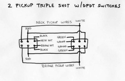 Emulating Seymour Duncan Triple Shot W Switches Telecaster Guitar Forum