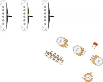 Does anyone have a blank wiring diagram | Telecaster Guitar ForumTDPRI.com