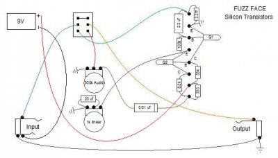 fuzz face point to point diagram? telecaster guitar forum dunlop cry baby wiring diagram fuzz face npn circuit jpg