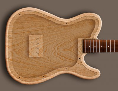 metal top hollow body tele idea telecaster guitar forum. Black Bedroom Furniture Sets. Home Design Ideas