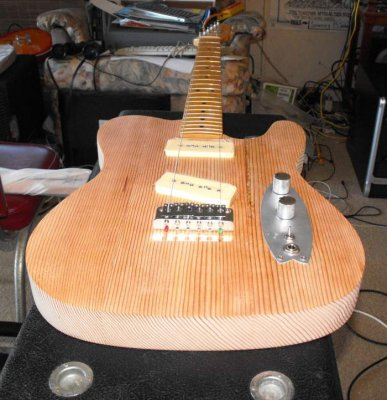 Building A Guitar From Reclaimed Wood Telecaster Guitar