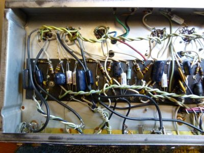 Need help identify Fender Super Reverb | Telecaster Guitar Forum on telecaster schematic, super amp schematic, super chorus schematic, fender schematic, bassman schematic, super comp schematic, tweed deluxe schematic,