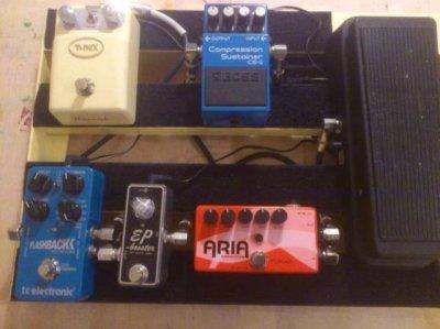 show us your pedal board page 174 telecaster guitar forum. Black Bedroom Furniture Sets. Home Design Ideas
