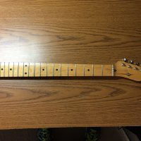 Allparts Lindy Fralin Maple Tele Neck