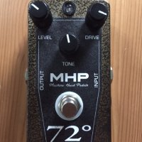 Machine Head Pedals 72 degrees overdrive pedal