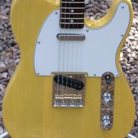 Butterscotch Blonde Telecaster Partscaster
