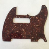 BROWN TORTOISESHELL pickguard with Charlie Christian pick up route