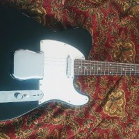 Aged Black Fender Classic Players Triple Telecaster re invention