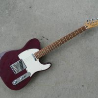 2000 Galactic Purple Squier Telecaster Standard $200 shipt