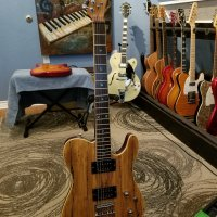 Fender FSR Telecaster Spalted Maple Seymour Duncan pickups abalone inlays