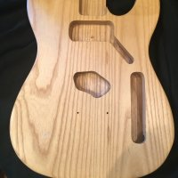 1-piece Swamp Ash Tele Body - $135 shipped