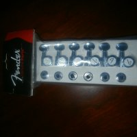 Brand New Fender Locking Tuners Chrome 2 pin