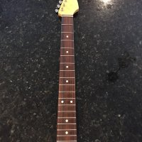 Allparts Strat Neck with tuners