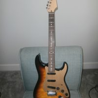 Strat Style beautiful, quality guitar