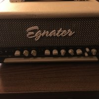 Egnater Rebel 30 head with upgrade