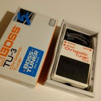 Boss TU-3 Tuner Pedal like new in box