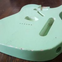 MJT Surf Green Relic Tele Body