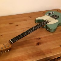 Danocaster Single cut (Tele) Teal Green metallic (Florence Voodoo T60 pickups)