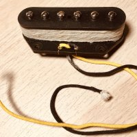 Tele Bridge Pickup with adjustable pole pieces