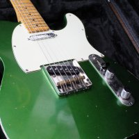 Candy Apple Green MJT Telecaster light relic