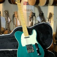 Fender American Deluxe Telecaster Transparent Teal Green