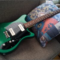 Hahn 112 Sherwood Green Sparkle Guitar Like new! LOWER PRICE!