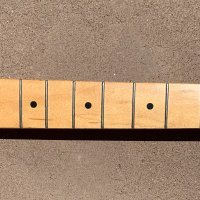 Fender Telecaster neck with locking tuners